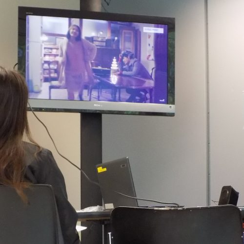 film playing in the language oasis