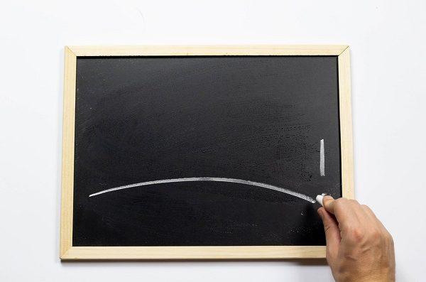 a little chalkboard