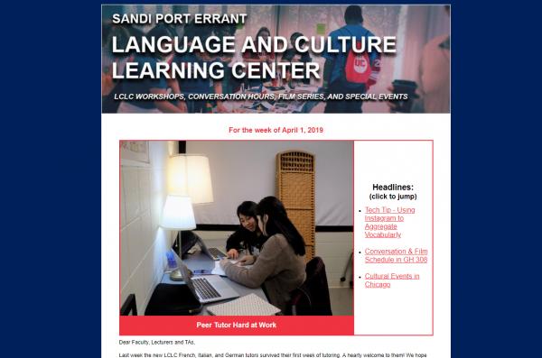 LCLC newsletter