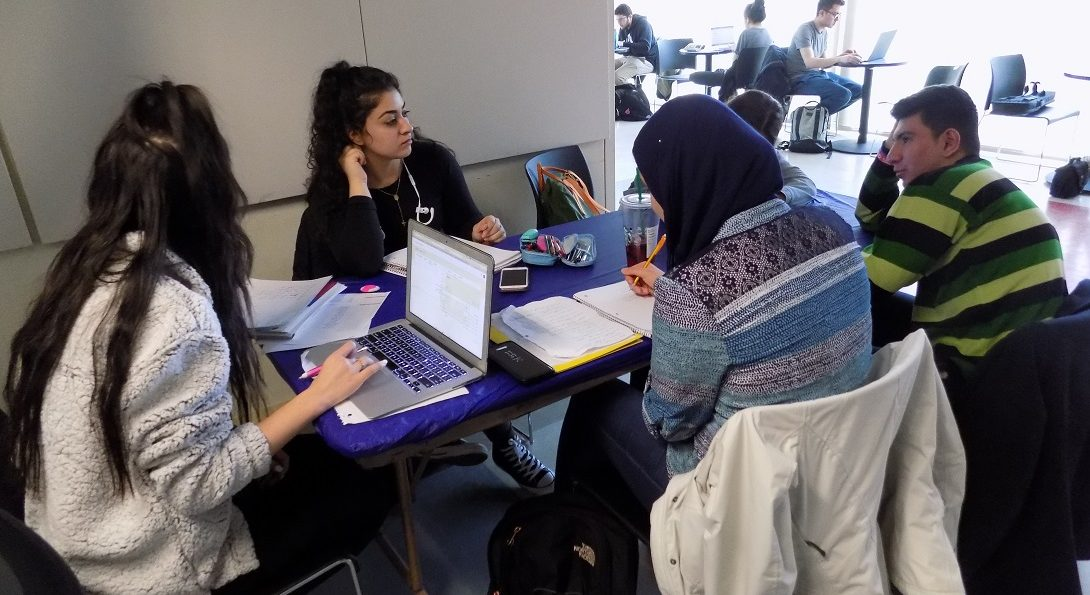 Arabic conversation hour