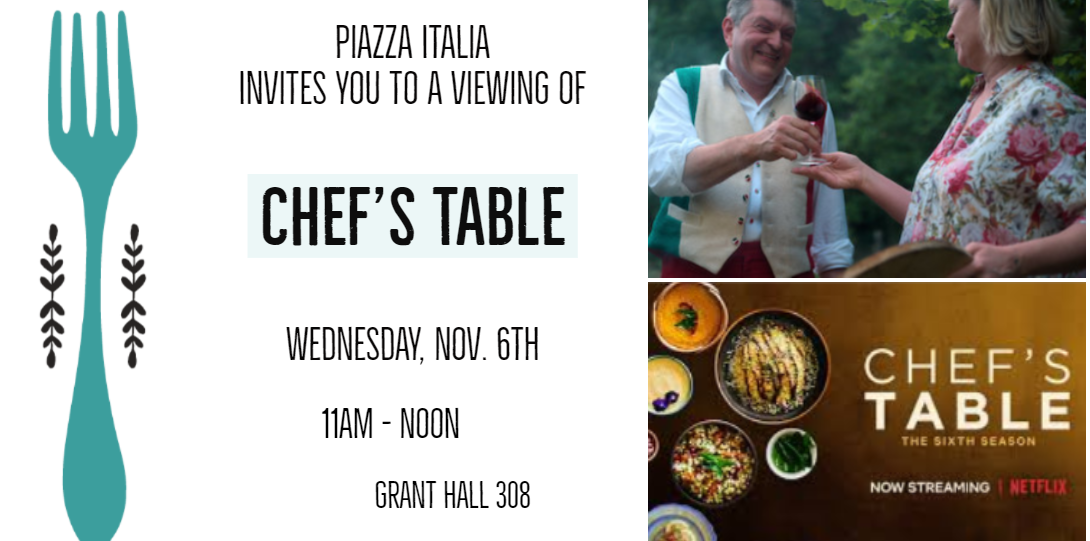 Chef's Table Screening