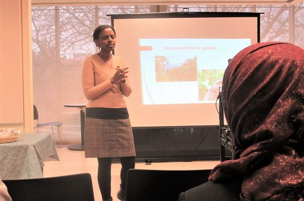 Presentation by Glorieuse Uwizeye