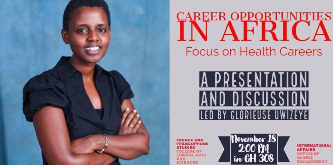 Career opportunities in Africa