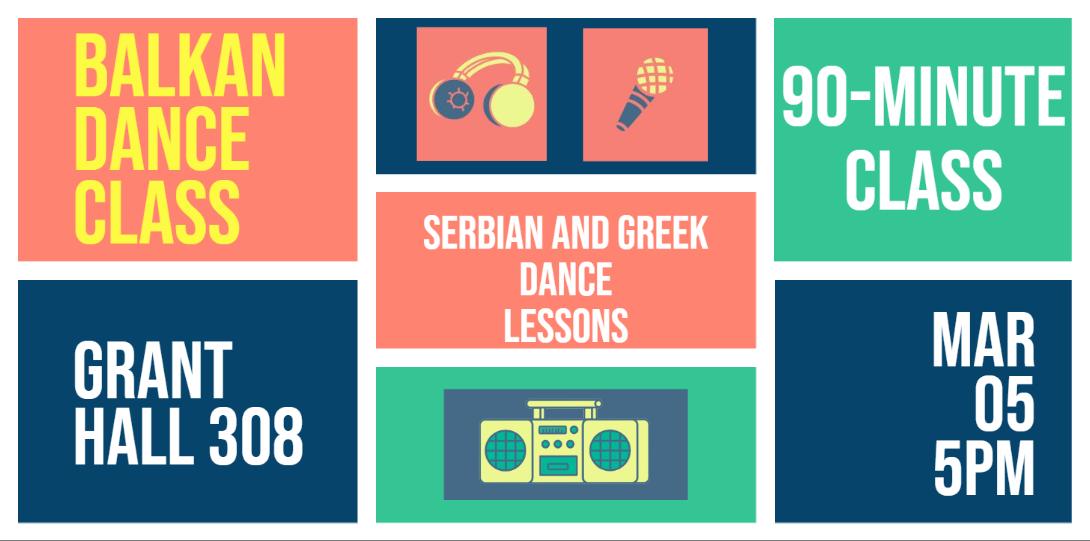 Balkan Dance Class
