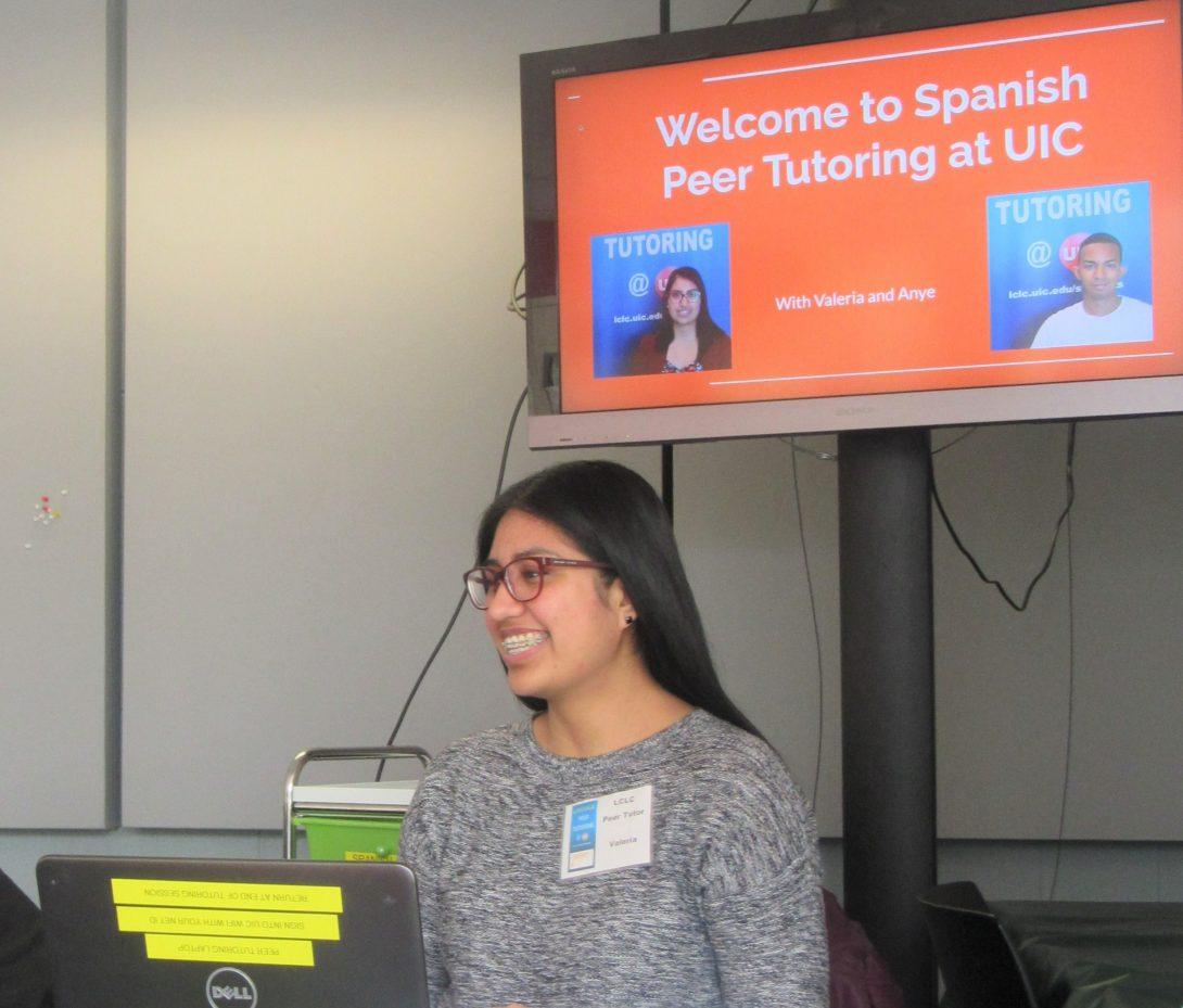 Valeria, Spanish Peer Tutor