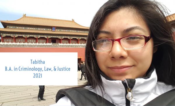 Tabitha in Beijing's Forbidden City