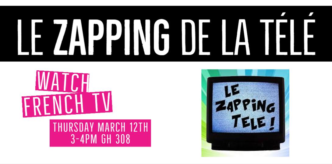 Le Zapping de la tele