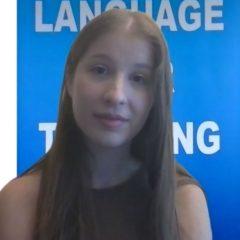 Ivana, German Peer Tutor