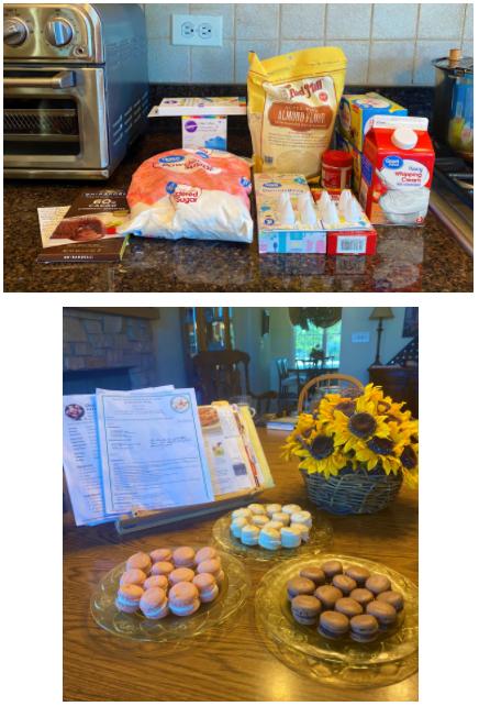 Baking Vanilla Macaroons
