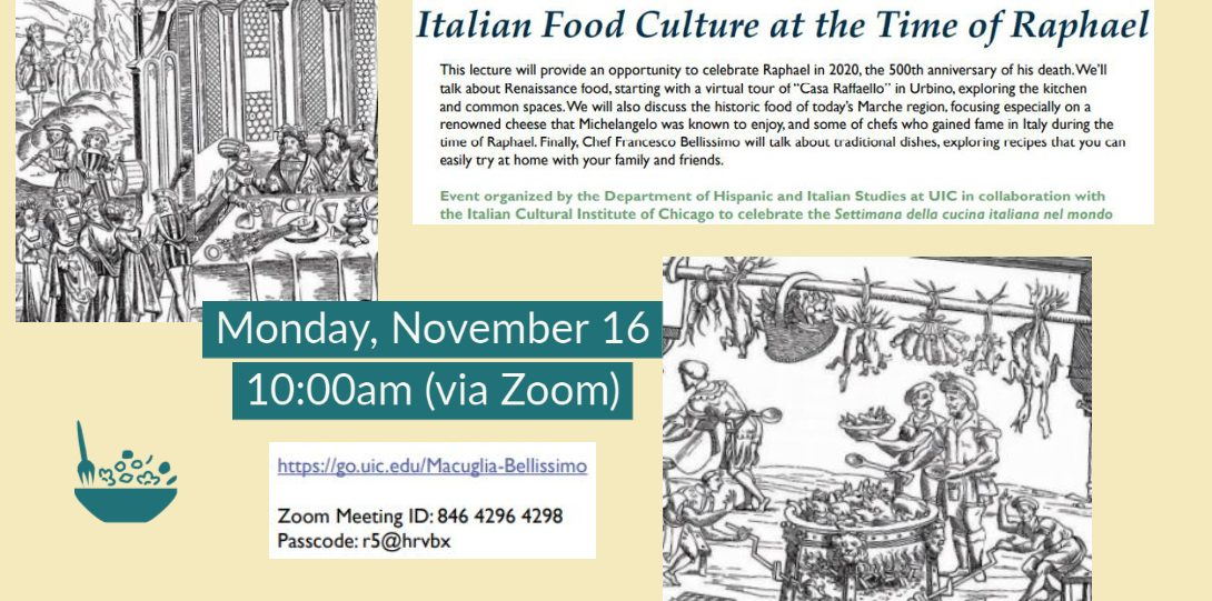 Italian Food Culture at the Time of Raphael