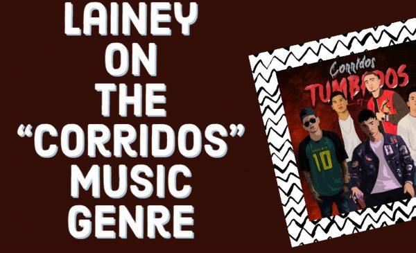 Lainey on the Corridos music genre; group of Corridos Tumbados singers, digitally drawn