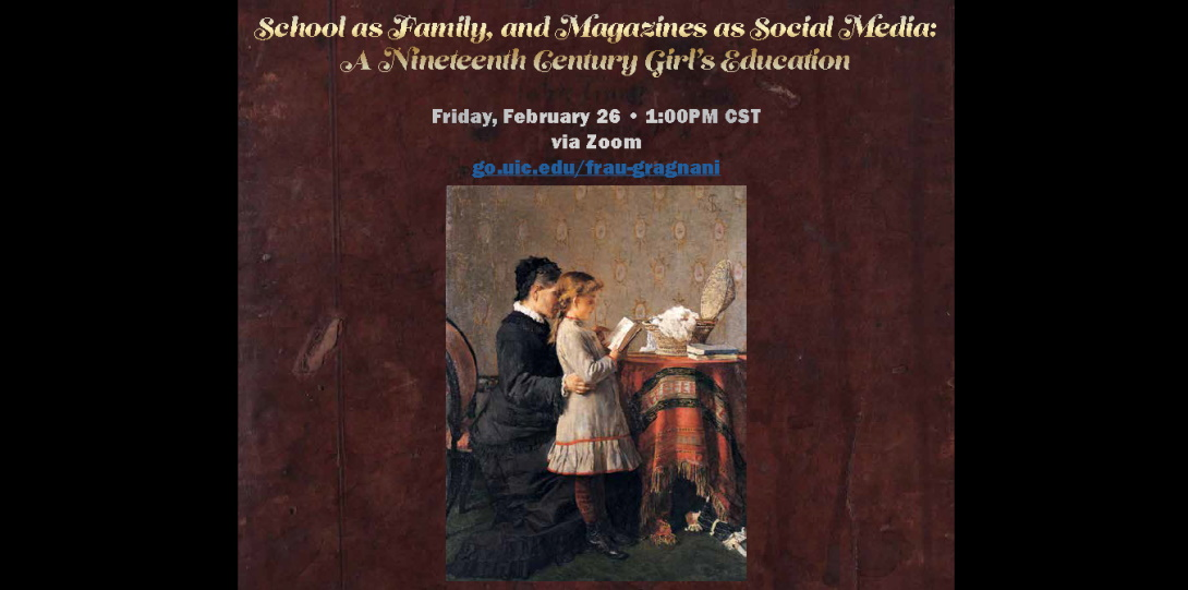 School as Family and Magazines as Social Media: A Nineteenth Century Girl's Education