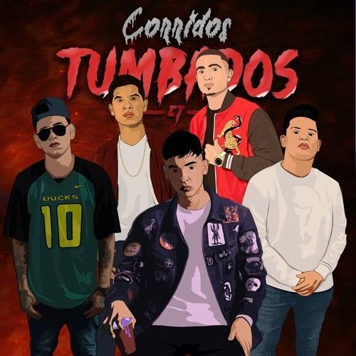 Group of Corridos Tumbados singers, digitally drawn