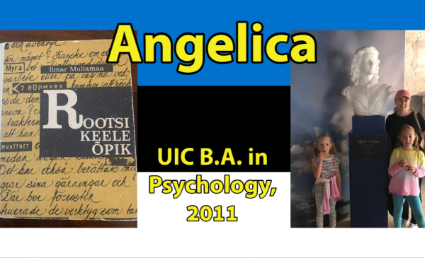Angelica, UIC B.A. in Psychology, 2011