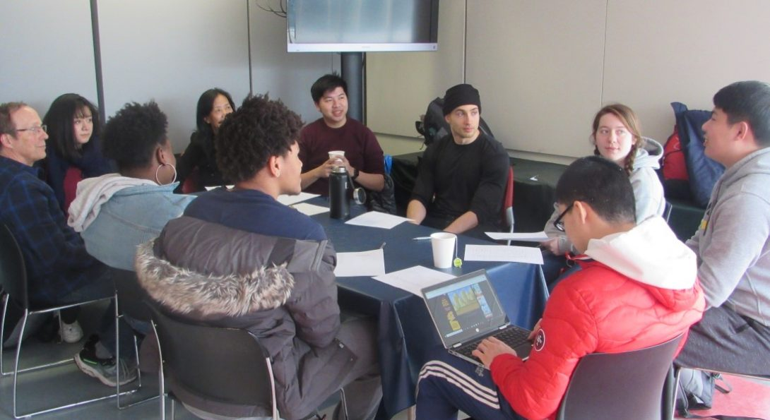 Chinese conversation hour in GH 308